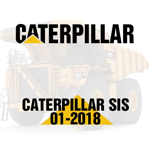 CATERPILLAR SIS 01-2018